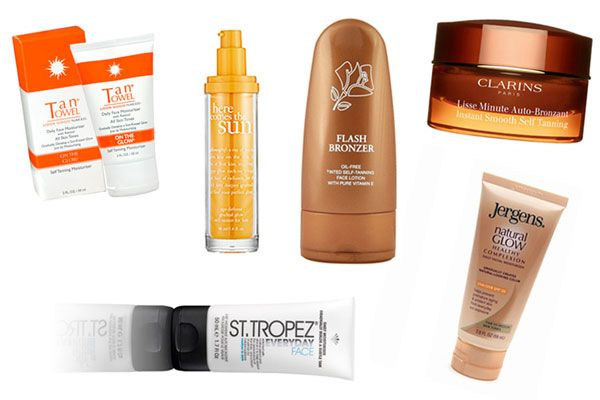 best self tanners for sensitive skin and faces  - MarieClaire.com