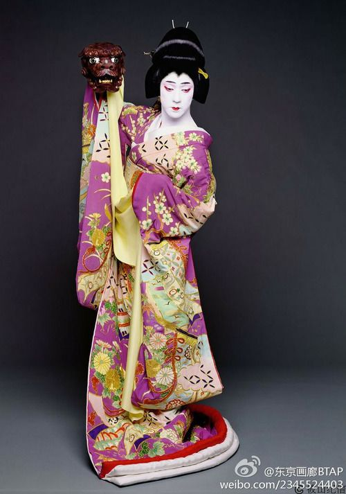 Tamasaburo Bando, Kabuki actor, Japan