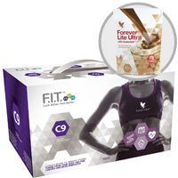 The C9 program can help you to jump start your journey to a slimmer, healthier you. This effective, easy-to-follow cleansing program will give you the tools you need to start transforming your body today!   Your C9 pack includes:  Aloe Vera Gel® – 2X – 1 liter bottles Forever Lite Ultra Shake® – 1 pouch Chocolate Forever Therm™ – 18 tablets Forever Fiber™ – 9 sticks Forever Garcinia Plus® – 54 softgels