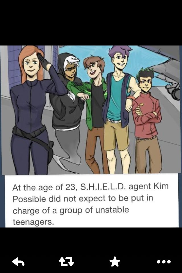 Kim Possible and SHIELD?!? YES!!!!