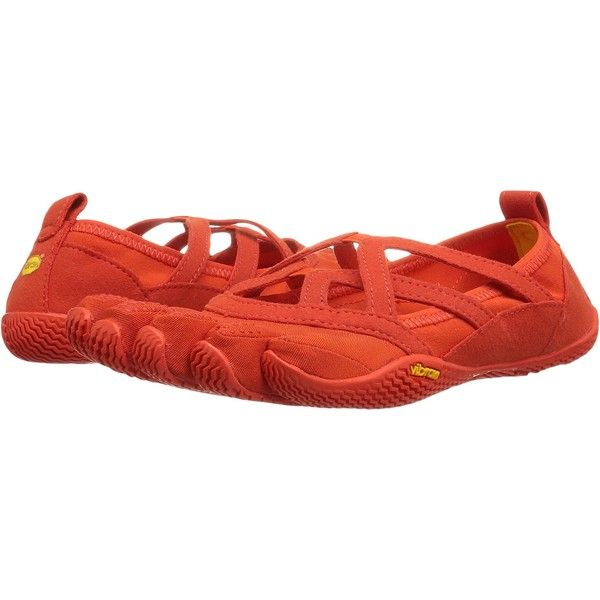 Vibram FiveFingers Alitza Loop (Burnt Orange) Women's Shoes ($43) ❤ liked on Polyvore featuring shoes, athletic shoes, orange, orange athletic shoes, vibram fivefingers footwear, loop shoes, orange shoes and holiday shoes