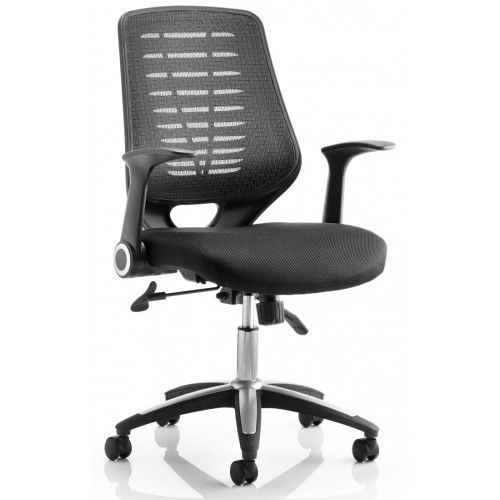 Relay Airmesh Officechair Price 115 50 Black Or Silver Mesh Back