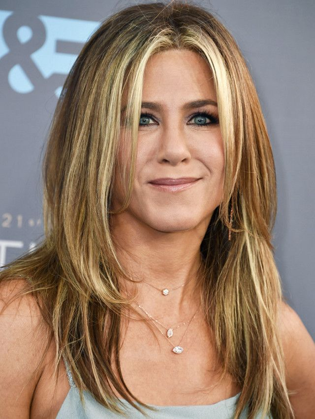 Jennifer Aniston is the poster girls for layered hair.