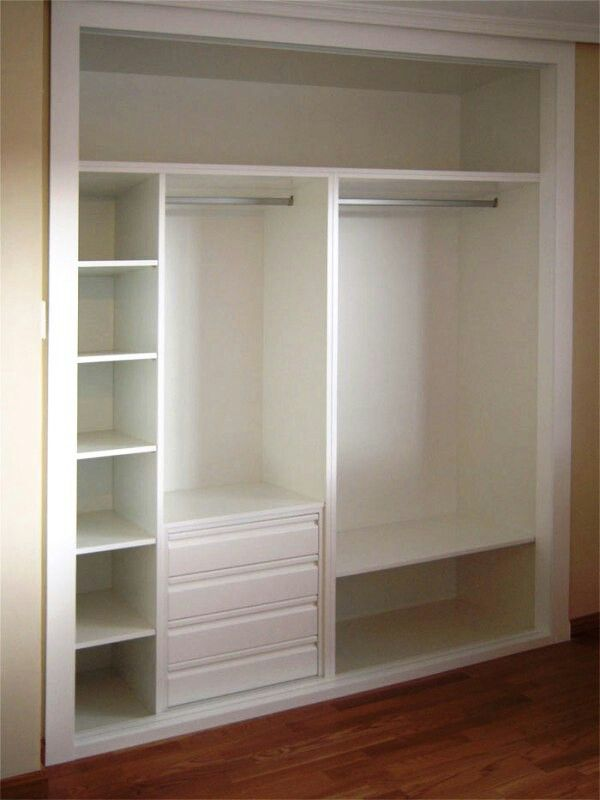 Closet sin puerta