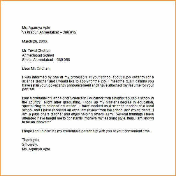 sample application letter and resume - Amitdhull - application letter example