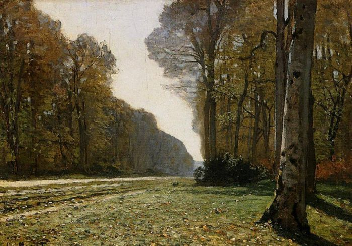 1865. The Pave de Chailly.