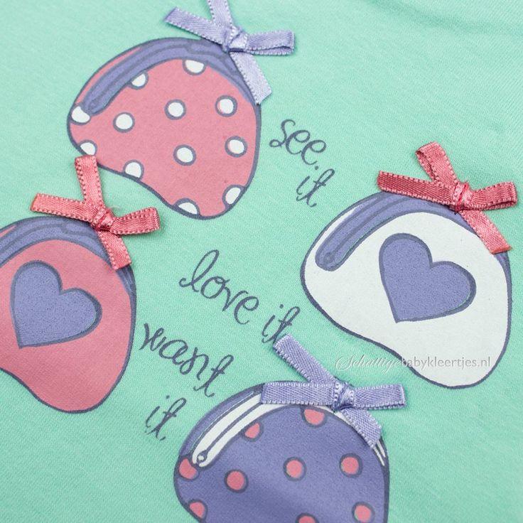Dirkje babykleding T-shirt Fabulous (azuur) - Dirkje babykleding