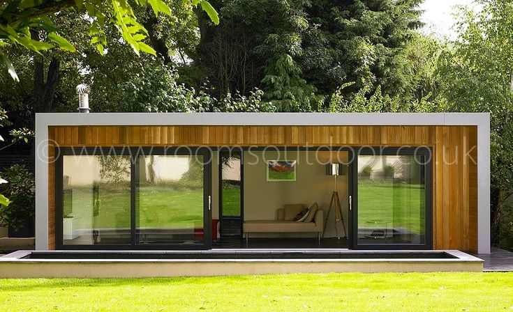 Modern modular house hledat googlem modular house for Outdoor room extensions