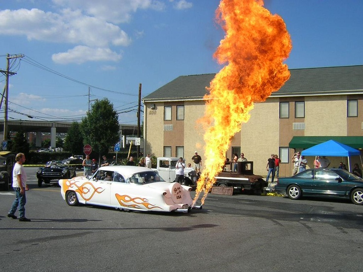 On Fire!Motorcycles, Flames Thrower, Favourite Hotrod, Musclecars Hotrod, Street Rods, Classic Cars, Riding, Hot Rods, Lead Sled