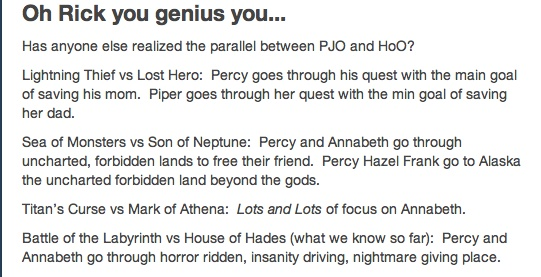 I see it now. OMG, I can't believe how similar they are. Hopefully this means Percy and Annabeth make it out of Tartarus since they made it out of the Labyrinth. If Calypso is in the House of Hades.......