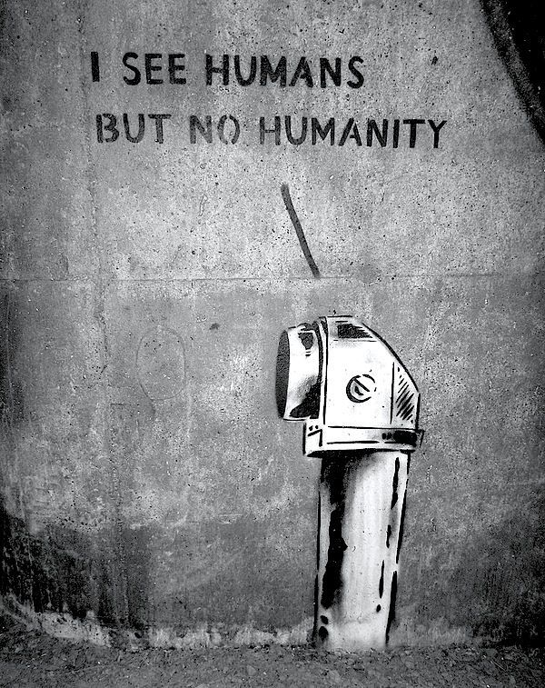 Words. human. humanity.