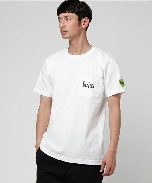【ZOZOTOWN|送料無料】Audience(オーディエンス)のTシャツ/カットソー「ビートルズGREENAPPLE プリントポケTEE」(AUD1869)を購入できます。