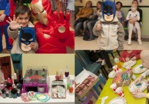 Día del Niño y Spa para chicas | En el mes de agosto los chicos que están internados en el Hospital y los que vienen a realizar un tratamiento tuvieron sus momentos para divertirse y distraerse.
