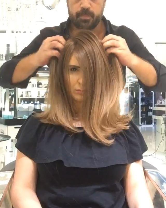 Mocha with hazelnut  Haircolour transformation by @mouniiiir  #mouniiiir #hair…