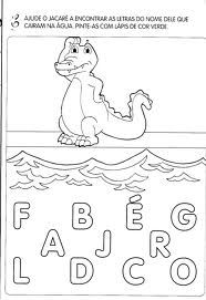 Uma boa atividade para ajudar as crianças a formarem palavras.