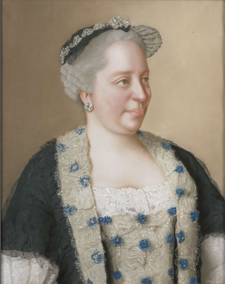 Maria Theresia van Oostenrijk (1717-80), aartshertogin van Oostenrijk, koningin van Hongarije en Bohemen, Rooms-Duits keizerin, Jean-Etienne Liotard, 1762