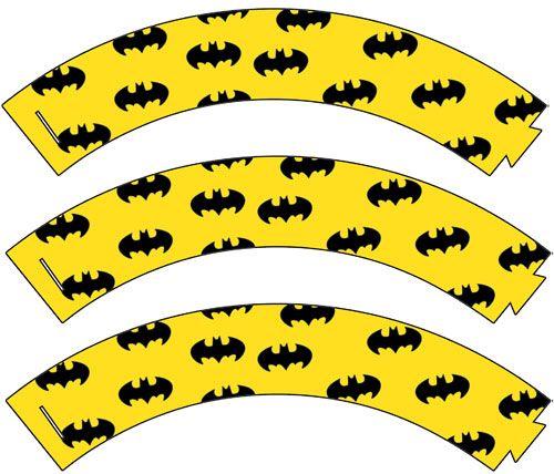 Printable Batman Cupcake Wrappers - Printable Treats