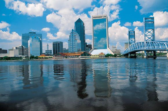 Jacksonville, FL  Where my first child was born.