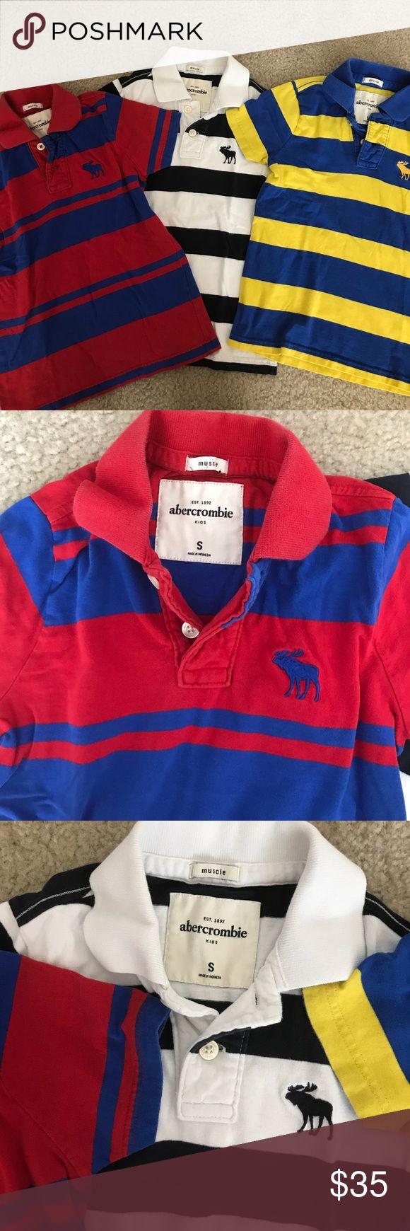 Abercrombie Polo Shirt for Boys Abercrombie for Kids Polo Shirt Size S. in a good condition Abercombie Kids Shirts & Tops Polos