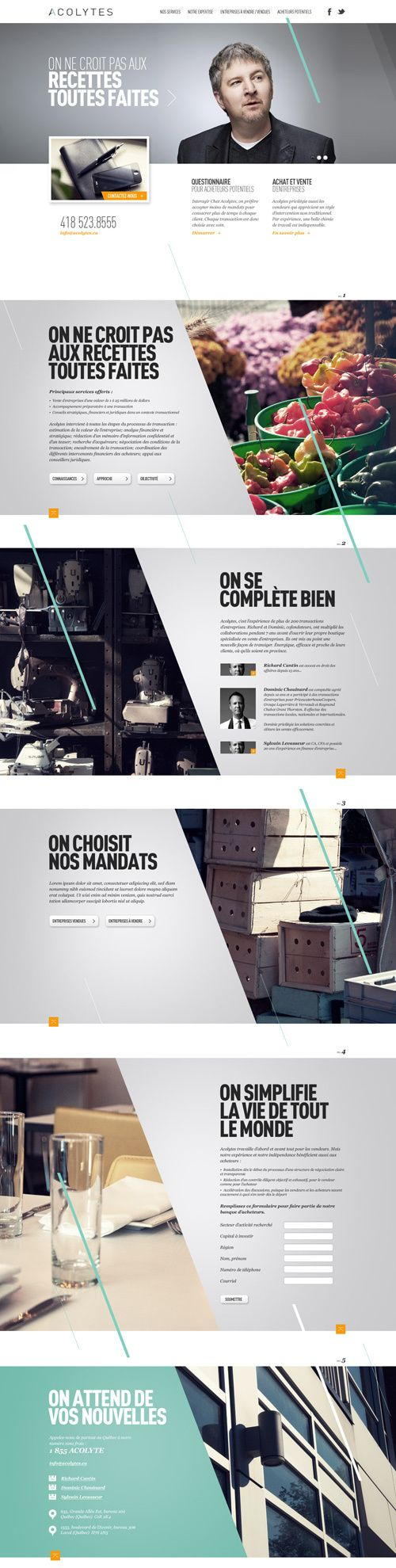Acolytes by Alexandre Desjardins, via Behance