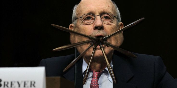 Stephen Breyer Sets Supreme Court Record For Most Gavels In Mouth