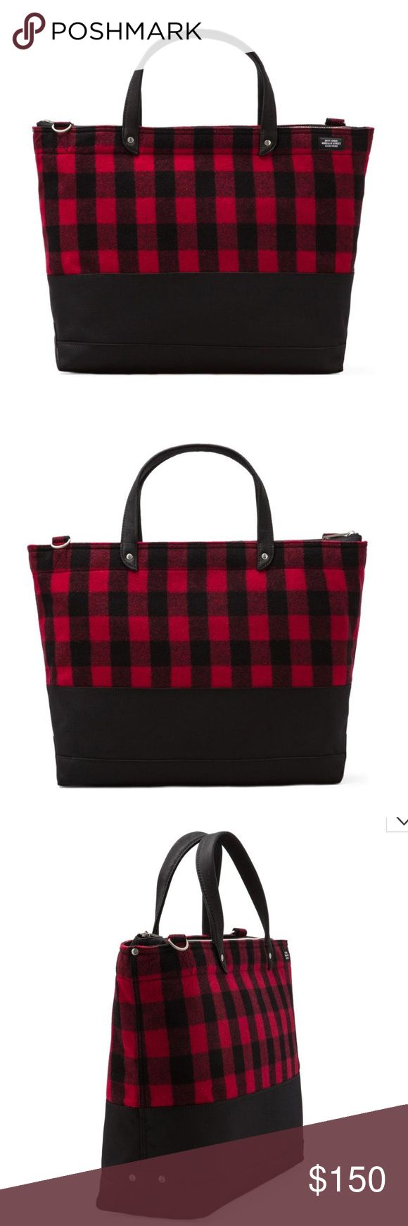 Jack Spade Zip Coal Bag Buffalo Check NWT New with tag! Retails $275. Never used. Will sell for cheaper off Posh Jack Spade Bags