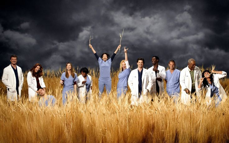 Grey's Anatomy #tv #series #greys #anatomy #poster #cast