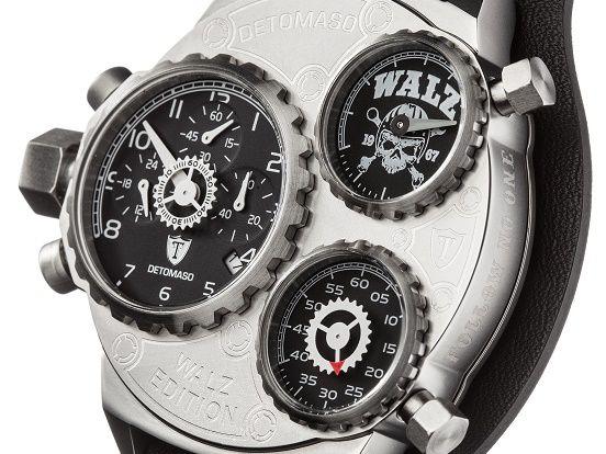 Die DETOMASO Walz-Edition bietet Herrenuhren für echte Individualisten. Hier findet Ihr die begehrten Armbanduhren in verschiedenen Varianten: https://www.uhrcenter.de/uhren/detomaso/uhren/detomaso-walz-edition-xl-chronograph-dt-w1001-a/