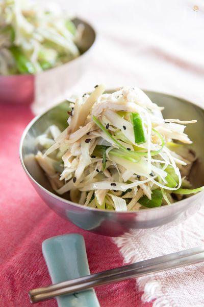 生姜(新生姜)の旨みを出して食欲増進。冷やしても美味しいナムルです。