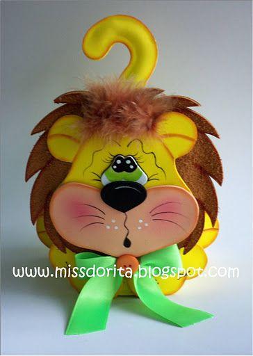 fun foam lion