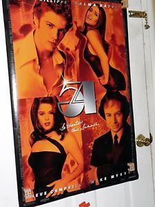 Studio 54 PREVIEW Theatrical Original Movie Poster D/S 2 Sided 1998 Rolled  | eBay