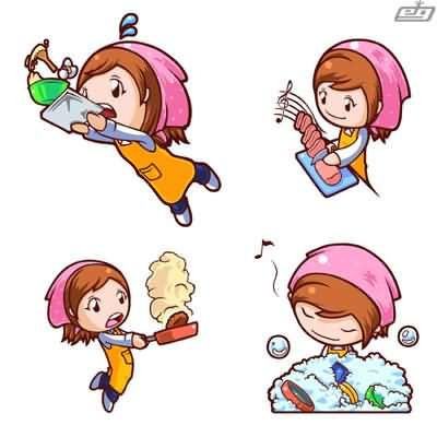 Cooking Mama: This game always puts me in rage mode! I usually just say this game cheats