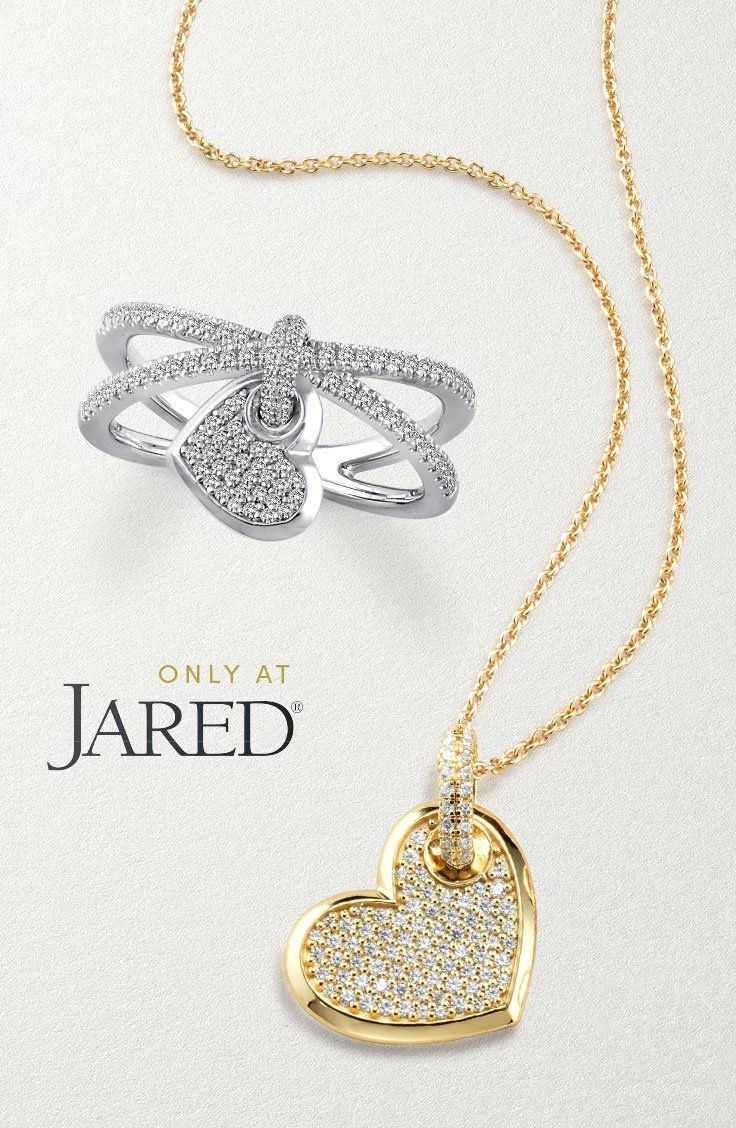 b4e0ad1ca Diamond Jewellery · Discover the Jared Heart collection and find the gift  to perfectly send your love to someone