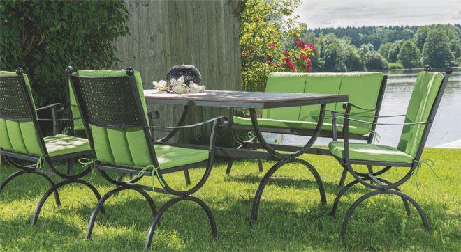 MBM Living Romeo Outdoormöbel Gartenmöbel Programm Schmiedeeisen - Möbel Mit www.moebelmit.de
