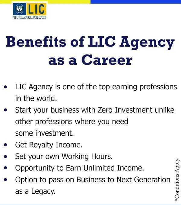 Being An Lic Agent Career Is One Of The Most Rewarding Careers In