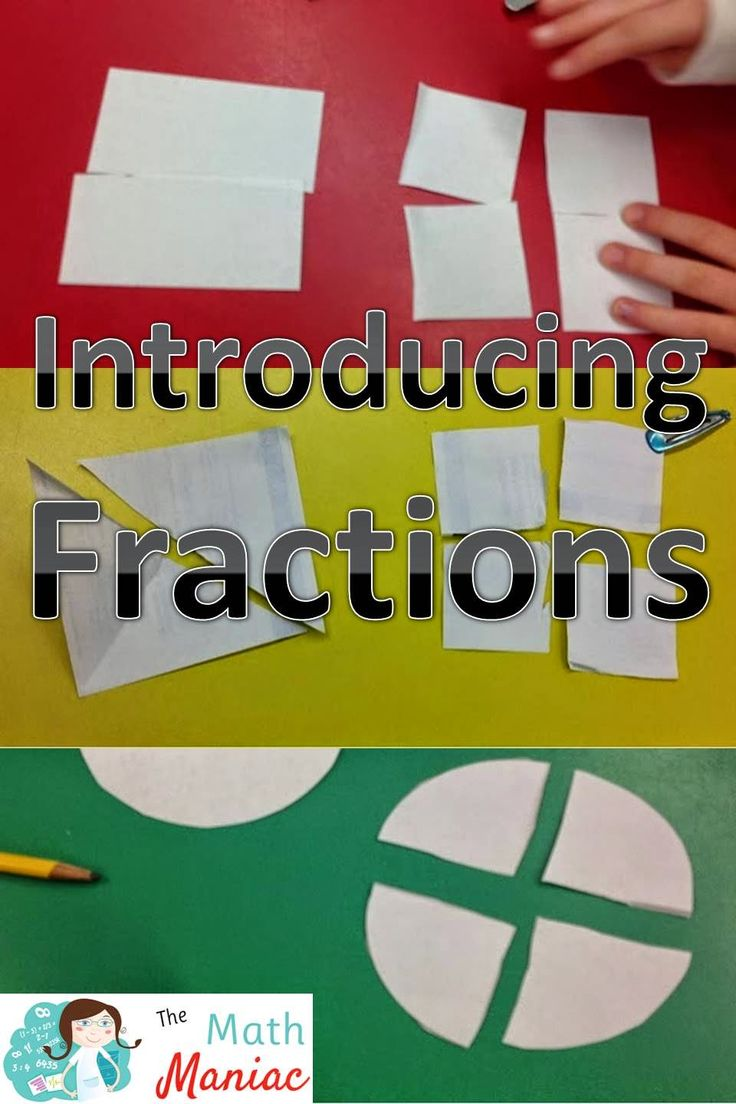 The Elementary Math Maniac: Fractions, First Grade and the Common Core