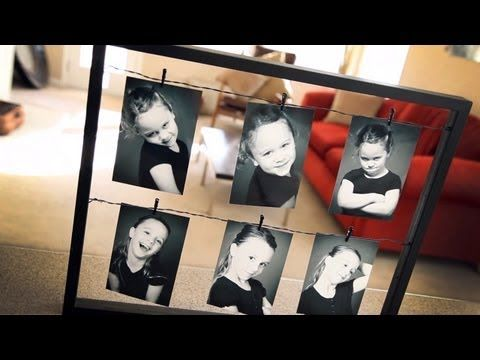 Follow Brent Holland as he shows you a simple inexpensive way to help design your home by creating a new innovative way to hang your pictures on the wall. Using a wire or twine, you can create a very eye grabbing picture frame of your loved one ones.