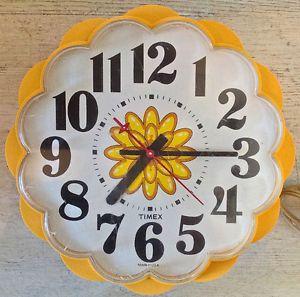 Vintage 1960. Collection. Ancienne horloge électrique TIMEX Lévis…