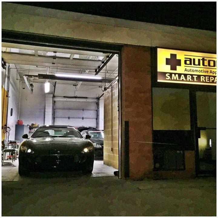 Friday night work in progress! #Maserati #Automedix