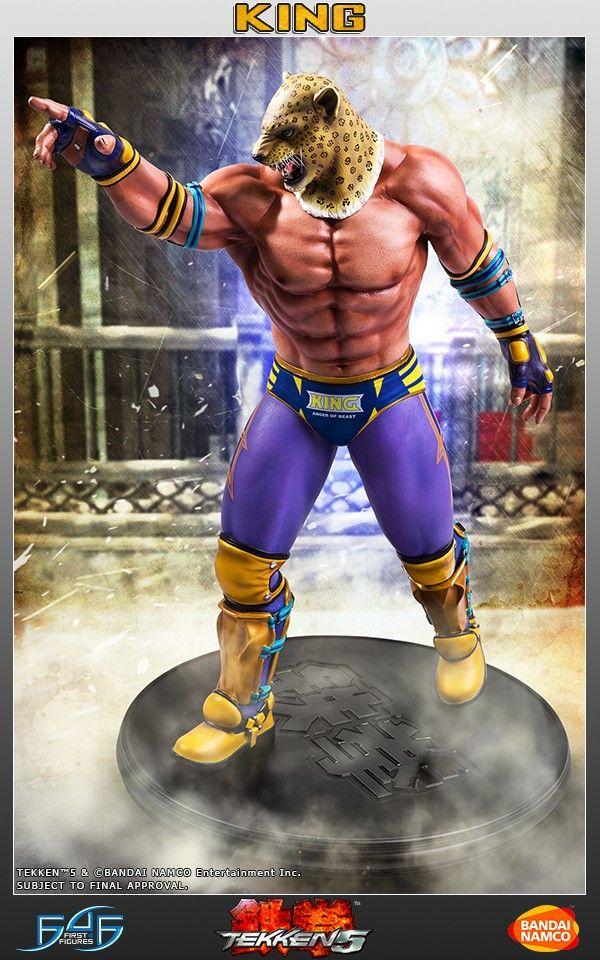 King Tekken 5 King Kingll Tekken Tekkencharacters