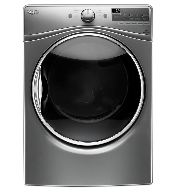 7.4 cu. ft. Gas Dryer with Stainless Steel Dryer Drum