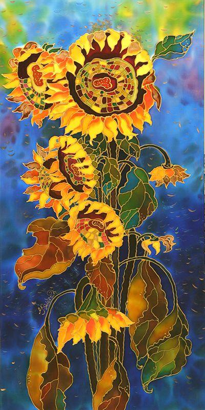 Sunflowers ~ Yelena Sidorova