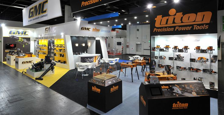 GMC exhibition stand at International Hardware Show, Cologne