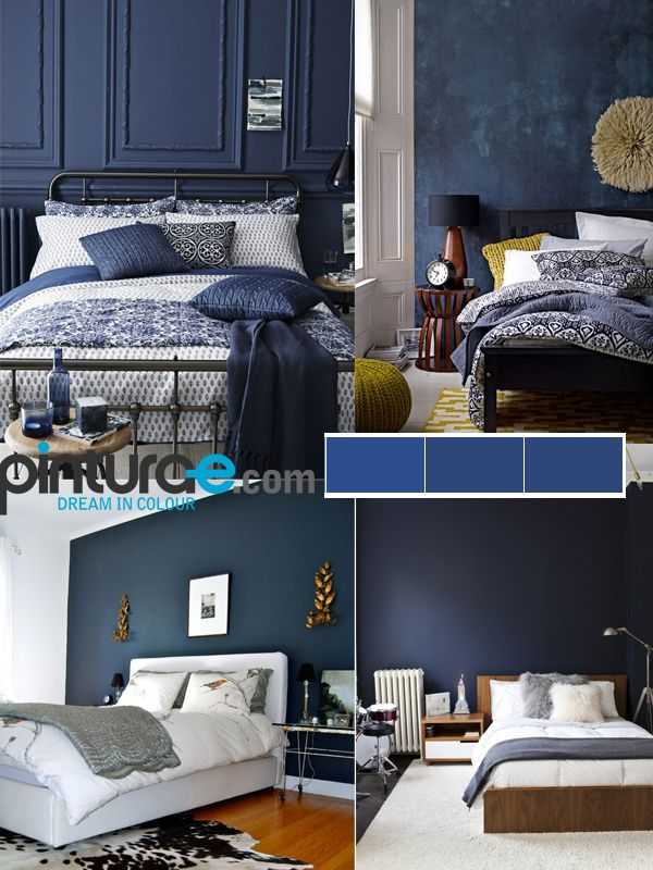 Combonacion cuartos con gris y azul buscar con google for Cuartos pintados de azul