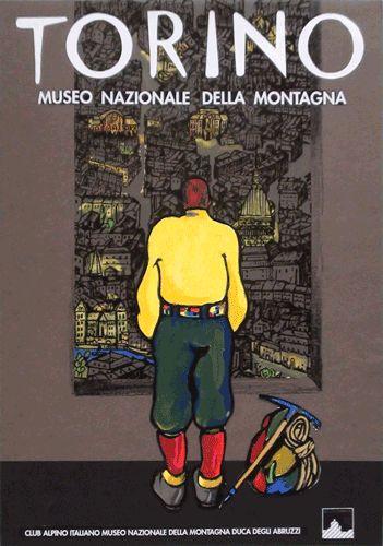 Franco Balan  Torino Museo Nazionale della Montagna  Progetto grafico e illustrazione di Franco Balan.