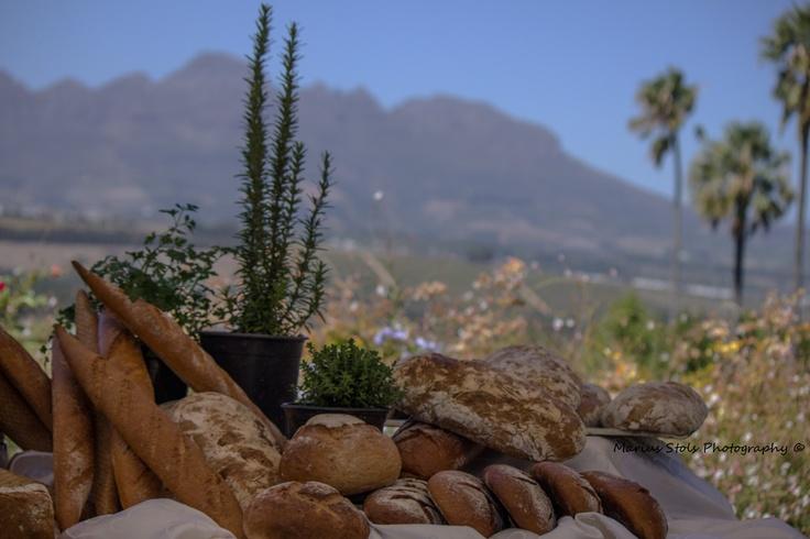 Fresh bread made by Asara Wine Estate Stellenbosch