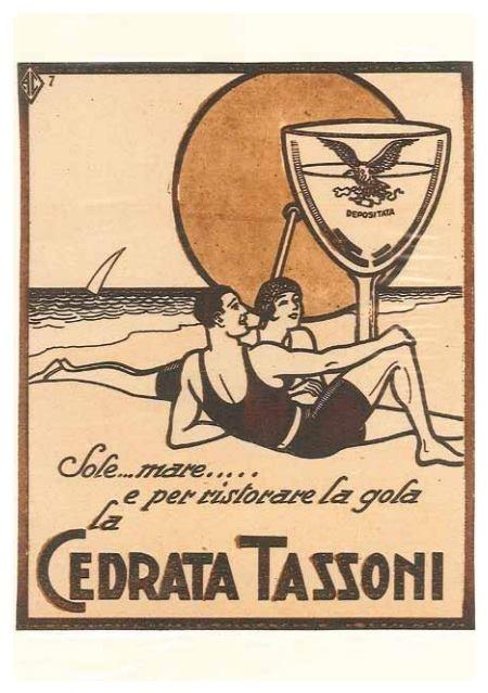 Era il 1926, e gli italiani avevano due desideri: una rilassante vacanza al mare e una Cedrata Tassoni freschissima. I tempi cambiano, le passioni restano!