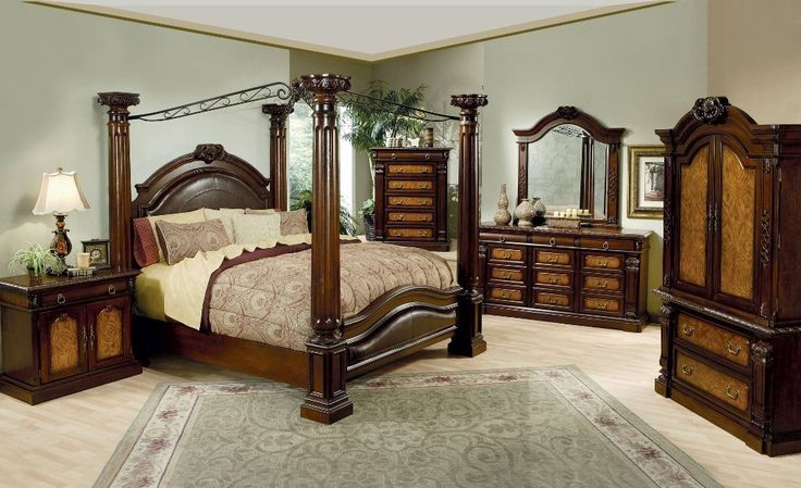 canopy bed frame queen for sale