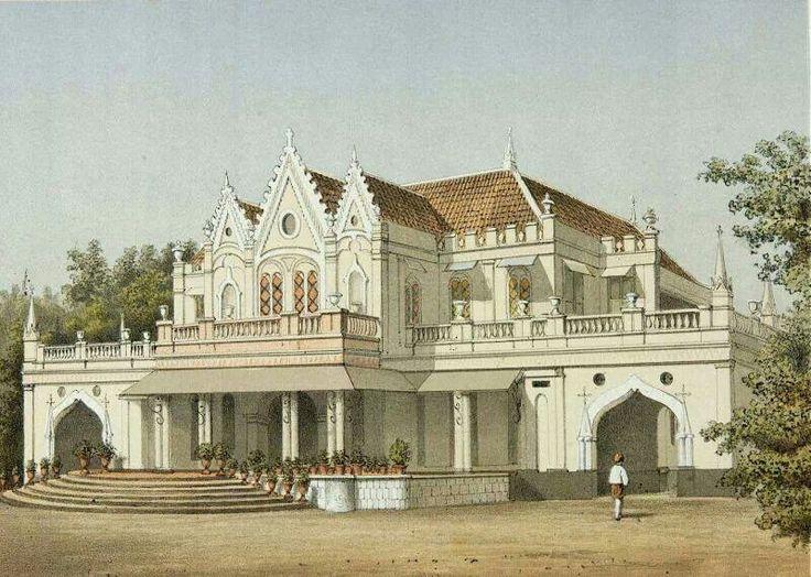 Rumah Raden Saleh dlm lukisan, 1882 sd 1889