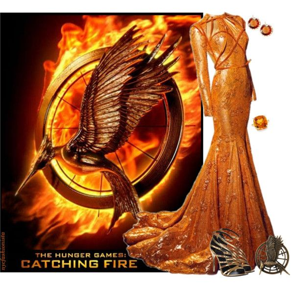 """""""The Hunger Games: Catching Fire Fashion"""" by nycfashionista on Polyvore"""
